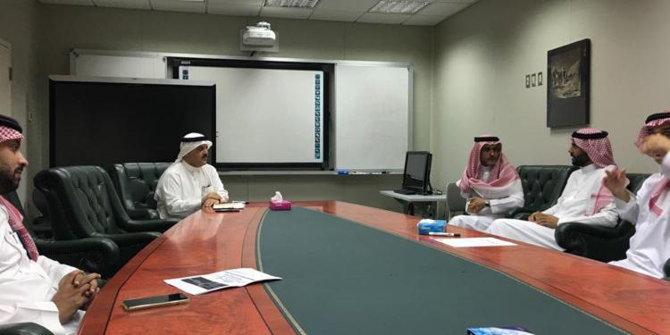 Meeting with the Dean of the College of Architecture and Planning Dr. Tareq Alrawaf and his team