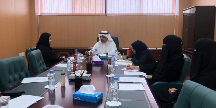 Meeting with the Dean of the College of Design Dr. Sumayah Al Solaiman