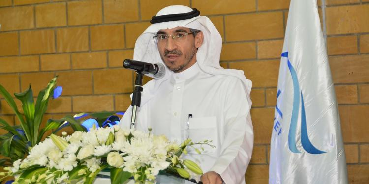 Prof. Abdullah Alkadi during his speech