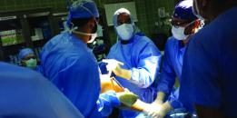 KFHU's First Cartilage Transplant Procedure1