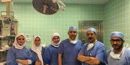 A Medical Team Succeed in Removing an Abdomen Tumor from a 50-year-old Patient