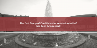 Announcement of the First Group of Candidates