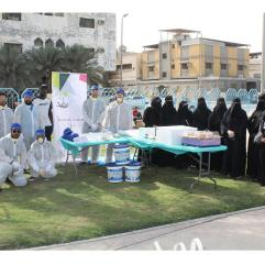 IAU Students help in Renovating Homes in Al Thuqbah District