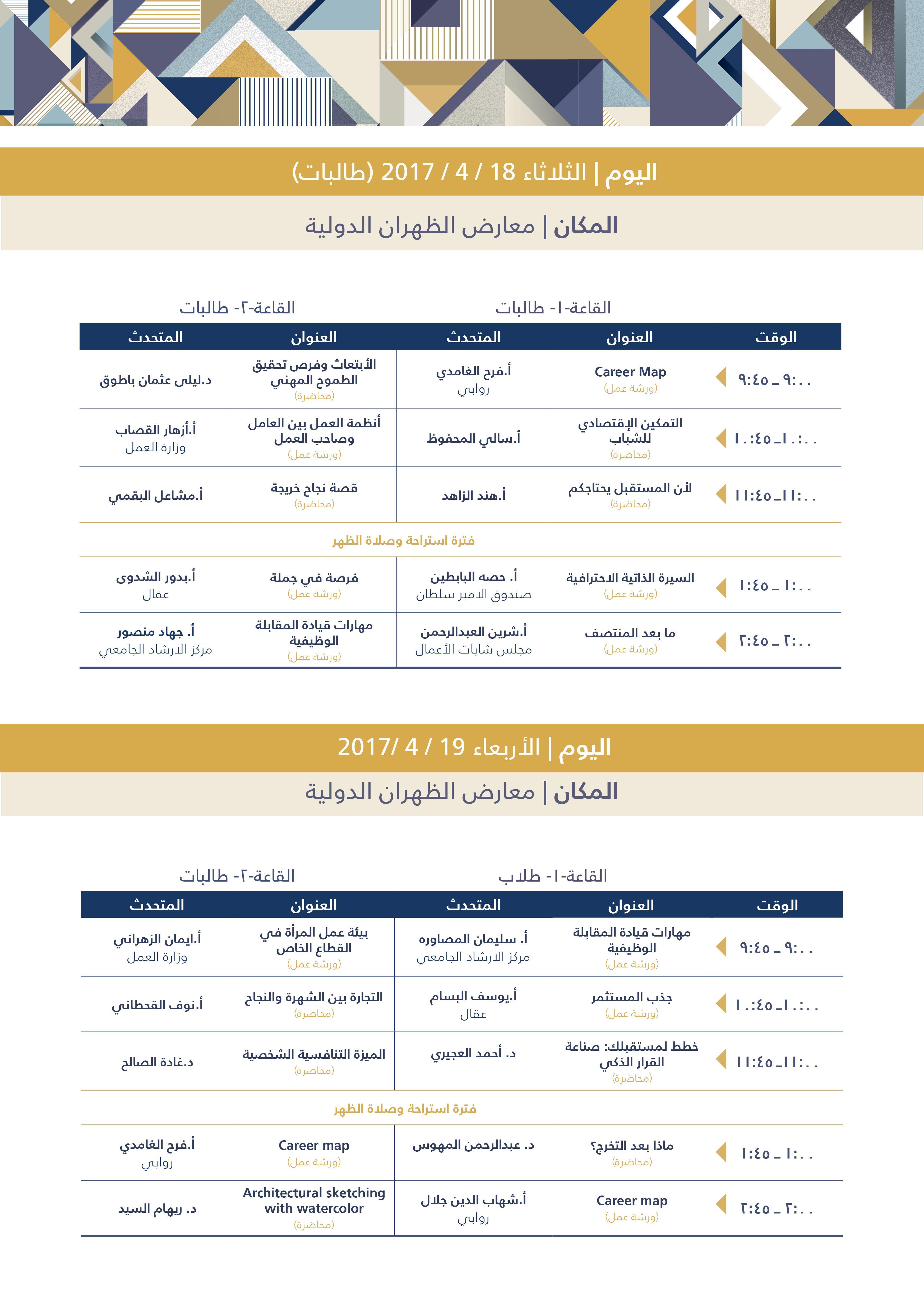 Career Forum Program